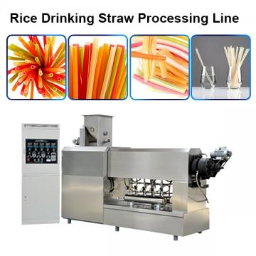 Stainless Steel Twin-Screw Extruder Eco-Friendly Factory Supply Pasta Straw Making Machine Degradable Straw Machine