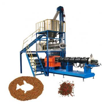 Big Capacity Automatic Floating Sink Fish Feed Pellet Extruder Processing Line