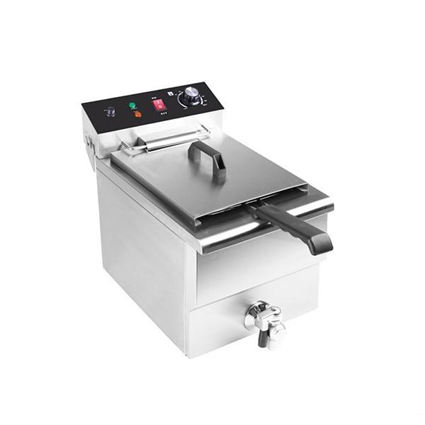 Electrically Heated Commercial Electric Deep Fryers for Food