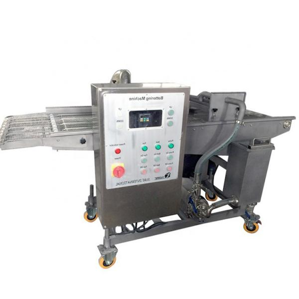 Commercial Fish / Shrimp / Beef / Pork / Patties Nuggets Battering Machine